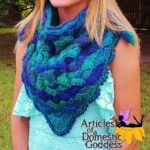 Shell Shawl by Articles of a Domestic Goddess