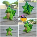 Dino Dragon Amigurumi by Articles of a Domestic Goddess