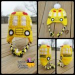 School Bus Hat by Articles of a Domestic Goddess