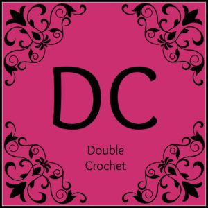 Double crochet Articles of a Domestic Goddess